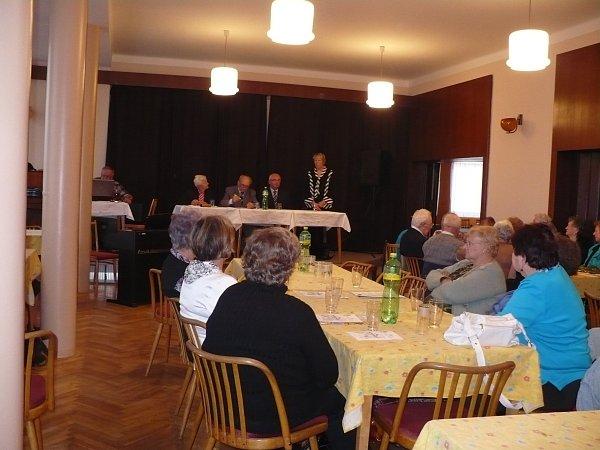 Sídlo Klubu důchodců vTýništi nad Orlicí