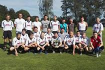 AFK ČASTOLOVICE – vítězný tým Okresního přeboru II. třídy v sezoně 2016-17.