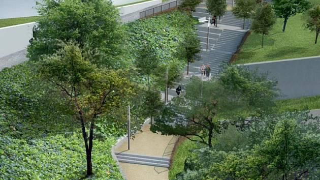 Projekt revitalizace veřejného prostoru Voříškova - Farská.