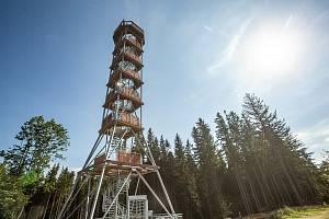 Nová rohledna v Olešnici v Orlických horách