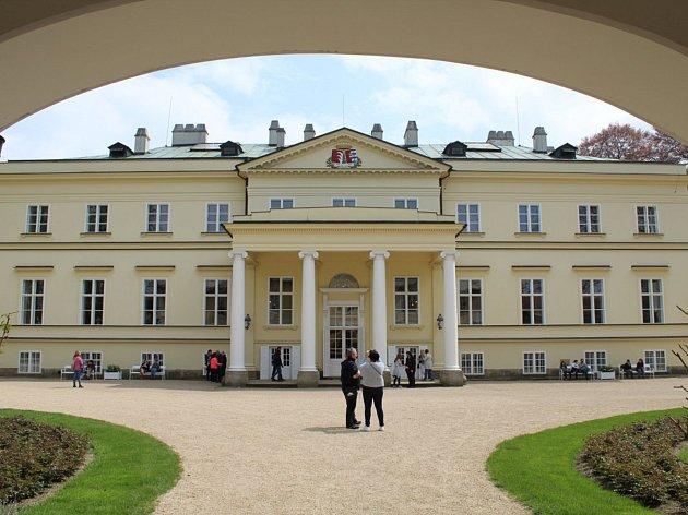 Zámek v Kostelci nad Orlicí.