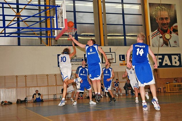 Basketbal: Rychnov – Husovice 95:79.