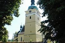 Kostel sv. Prokopa v Přepychách.