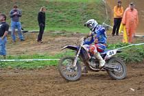Michal Votroubek (na snímku) si v Opatově dojel pro letošní nejlepší výsledek.
