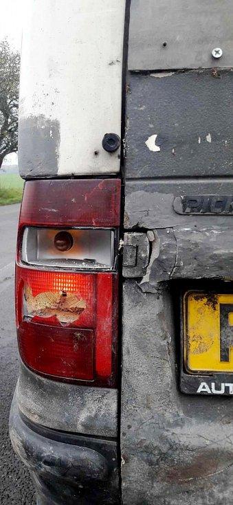 Nevyhovující technický stav vozidla.