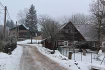 Ze Sněžného. Foto: Deník/Jana Kotalová