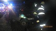 Tragtická nehoda v Ohnišově.