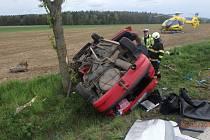 Z místa nehody u Lupenice