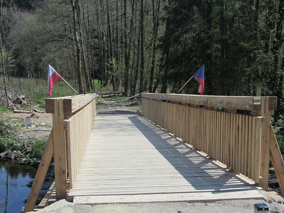 Jánský most, hraniční přechod do Polska, donedávna byl uzavřený kvůli opatřením na hranicích.