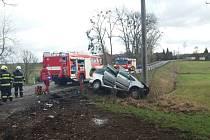 Tragická sobotní dopravní nehoda na Rychnovsku