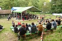 Třetí ročník alternativního festivalu Respect Session Ve Valu u Dobrušky.