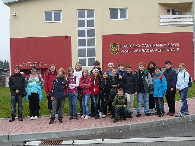 Exkurze žáků Základní školy Masarykova v Rychnově nad Kněžnou do firem a institucí v regionu