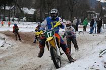 Olešnice v Orlických horách hostila čtvrtý závod mistrovství České republiky v motoskijöringu
