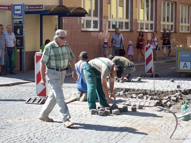 Stavba retardérů v Rychnově n. K.