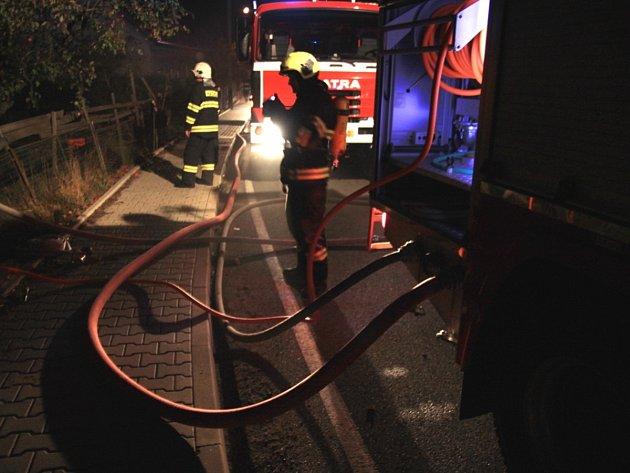 Požár rodinného domu si vyžádal lidský život.