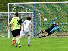Krajský přebor ve fotbale: FK Kostelec nad Orlicí - FC Spartak Rychnov nad Kněžnou.