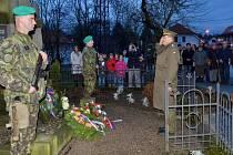 V Lukavici vzpomínali na válečné veterány.