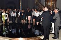 Krypta piaristického kostela se otevře veřejnosti. Lidé v ní uvidí unikátní dřevěnou plastiku Madony z Osíka
