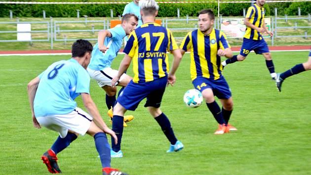 TJ Svitavy vs. FK Kunštát.