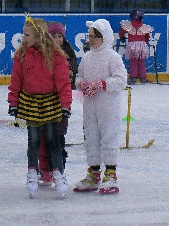 Karneval na ledě ve Svitavách.