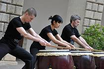 V Litomyšli se uskutečnila celá řada kulturních vystoupení japonských orchestrů. Ilustrační fotografie