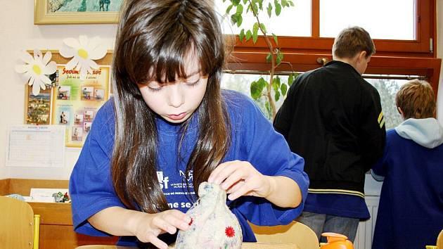 Školáci ze základních škol z Telecího, Korouhve a Oldřiše poznali různá řemesla.