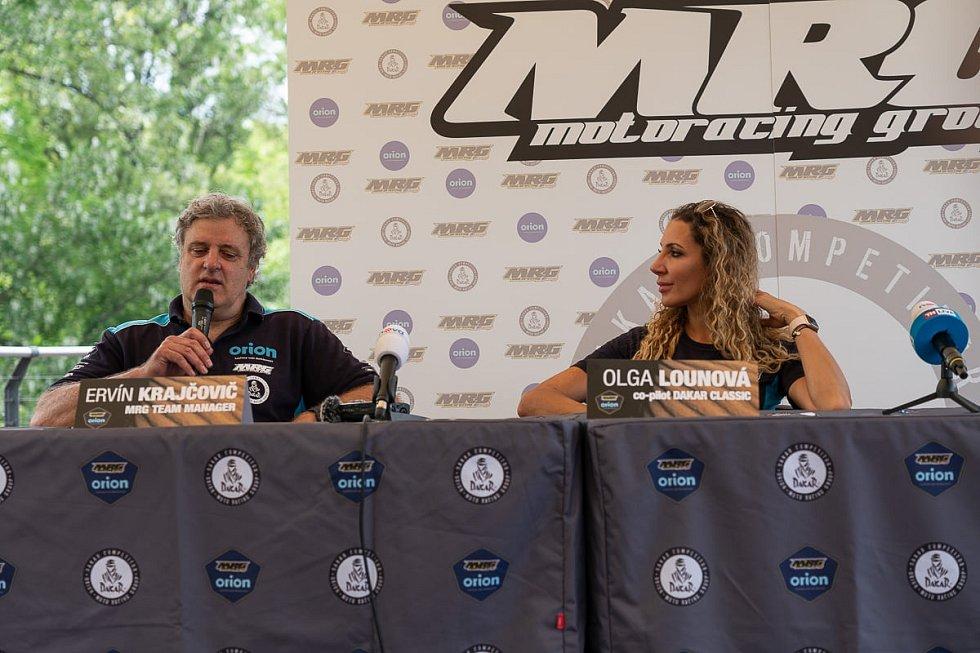 Se svými plány na další období, které vyvrcholí na Dakaru 2022, seznámil Orion MRG na tiskové konferenci.