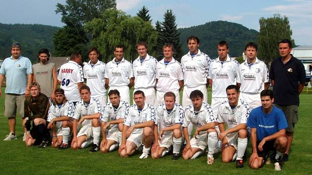 Slovan Moravská Třebová B, přeborník okresu Svitavy pro sezonu 2006/07.