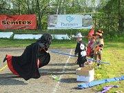 Pálení čarodějnic na Cihelně.