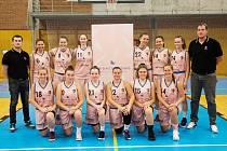 Druholigové ženy Adfors Basket Litomyšl.