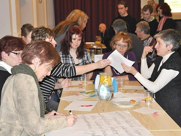 Co vám chybí? Co vám vadí?  Lidé na  fóru ve  Třebové uvedli mnoho problémů, které by chtěli vyřešit.
