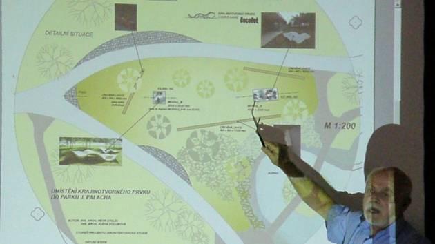 Návrhy změn v parku Jana Palacha.