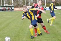 V derby béček Poličky a Svitav nepadl gól ze hry, jen z penalty.
