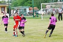 Fotbalisté Morašic rozhodli derby v poslední minutě.