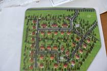 Návrh nového sídliště v Opatově.