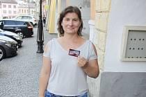 Vítězka jarní TIP ligy Andrea Gibiecová z Poličky.