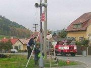 V Březové nad Svitavou přemístili radar na státovku