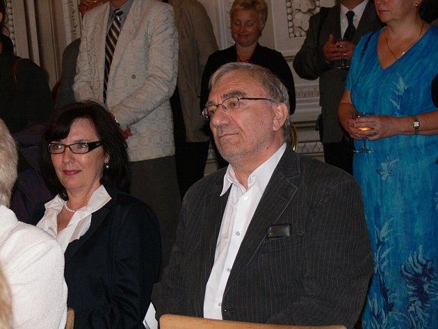 Spisovatel a scénárista Básníků Ladislav Pecháček.