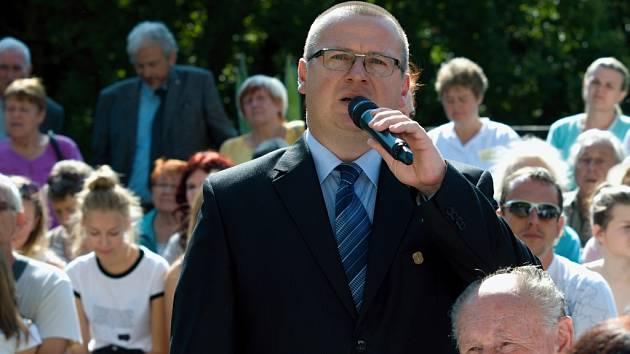 Starosta Jevíčka Dušan Pávek