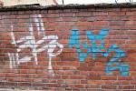 Graffiti v Jevíčku.