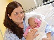 KRISTÝNA MAGOČOVÁ. Narodila se 25. září Lence Vostřelové a Tomáši Magočovi. Měřila 51 centimetrů a vážila 4 kilogramy.