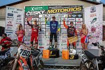 Orion Racing Team v Lokti: Rauchenecker (760), Bartoš (111 MX1, 101 Veterán), Rathouský (99), Nedvěd (202), Laňková (221).