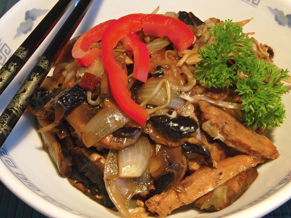 Čína nejen pro vegetariány.