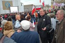 Z výpravy  koclířovské Fatimy v Římě na beatifikaci Jana Pavla II.