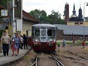 Světový unikát Stříbrný šíp přijel do Litomyšle.
