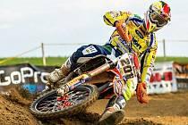 Pátý závod mezinárodního mistrovství České republiky v motokrosu v Petrovicích.