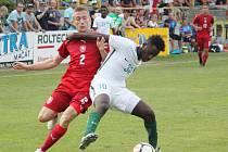 Česko U19 vs. Saúdská Arábie U20 v Moravské Třebové (1:3).