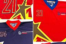 Červení proti modrým. Pro All Star Game v Litomyšli jsou na dnešní večer nachystány barevně zajímavé sady dresů.