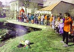 Vynášení Morany v Bělé nad Svitavou.