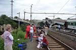 Vlakové neštěstí ve Studénce.